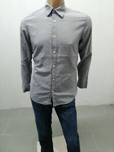 Camicia-CALVIN-KLEIN-Uomo-Taglia-Size-M-Shirt-Man-Chemise-Homme-P-6408