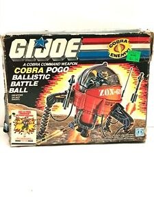 Vintage GI Joe Cobra POGO Ballistic Battle Ball ANTENNA Part only ARAH