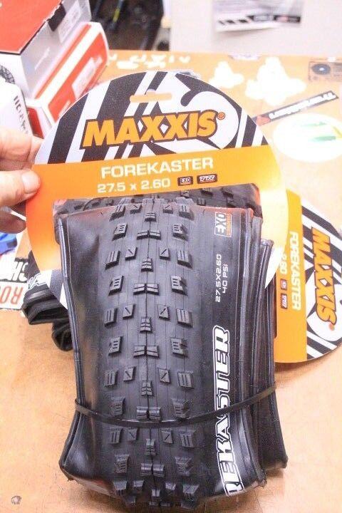 Maxxis Forkaster 27.5 x 2.60 Enduro Tubless Mountain Bike Tires