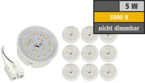 10 Led Module 5W Ersatz für   statt GU10 MR16 Strahler Lampen nicht dimmbar 20mm