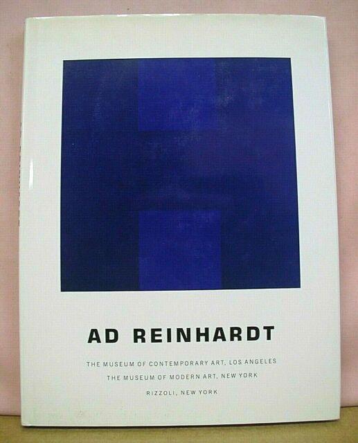 Ad Reinhardt text by Yve-Alain Bois with William Rubin 1991 HB/DJ
