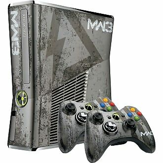 Microsoft Xbox 360 S Call Of Duty Modern Warfare 3 Limited Edition Bundle 320gb Silver Console Ntsc For Sale Online Ebay