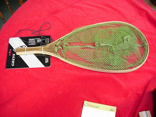 Hardy graus X-Flite Wood Landing Net Large GREAT NEU