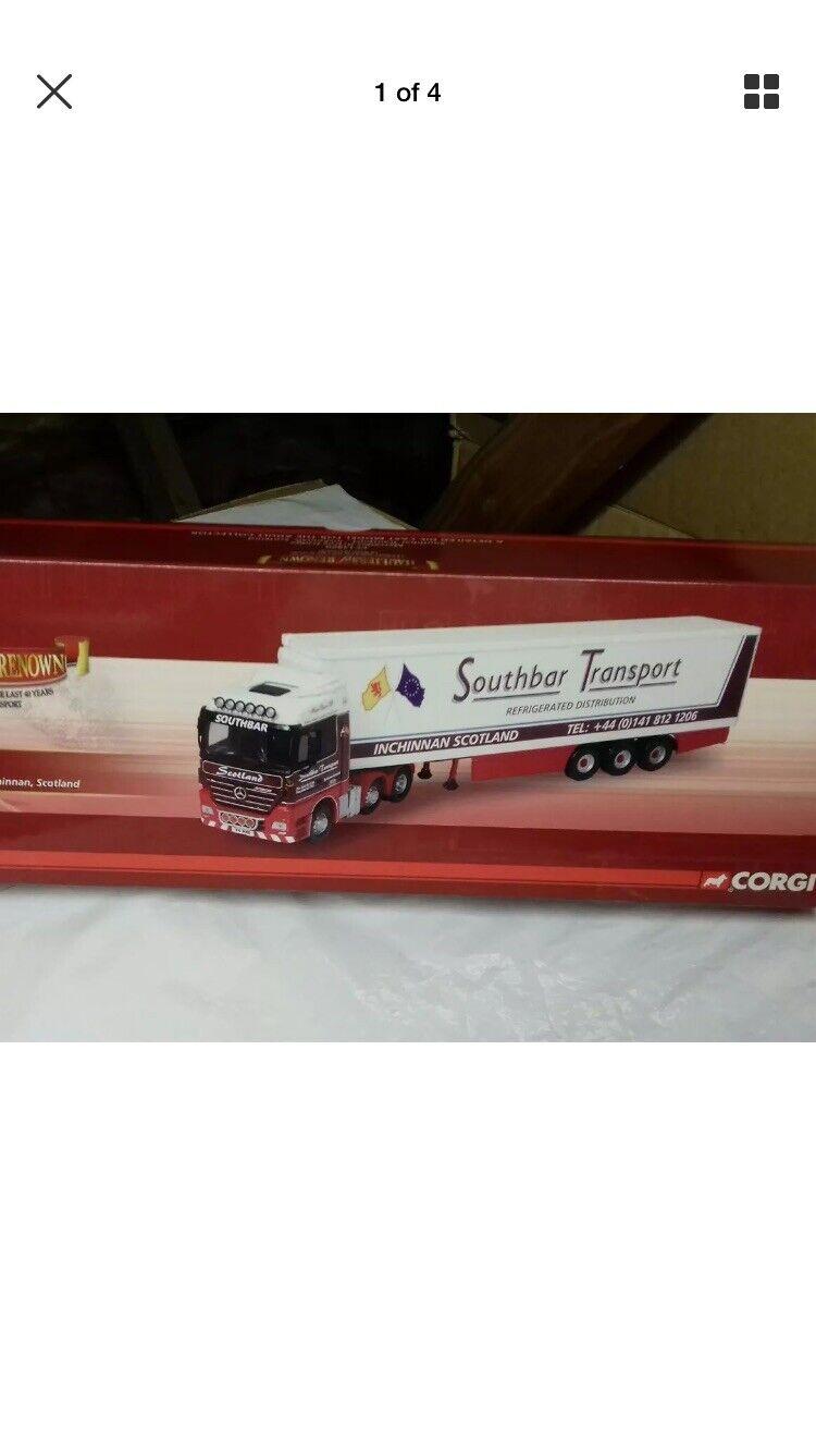 Corgi hauliers of renown CC13820 Southbar Refrigerated Mint 1.50 Certificate Mir