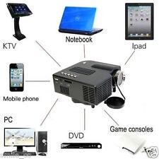1080P HD Mini Cinema Home Theater Multimedia USB LED Projector AV TV VGA HDMI