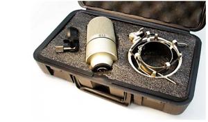 mxl 990 condenser microphone project studio recording w shockmount case ems 762319898623 ebay. Black Bedroom Furniture Sets. Home Design Ideas