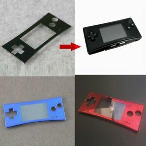 Nuevo Repuesto Delantero Placa frontal de Shell Funda Para Game Boy Micro GBM
