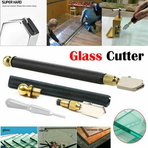 Coupe-verre d/'huile lubrifié Outil Professionnel Coupe 2-8 mm Miroir Sharp Diamond UK