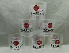 """6 Bacardi """"shot in a glass"""" """"cannon ball"""" Yeager Bomb cups - NEW"""
