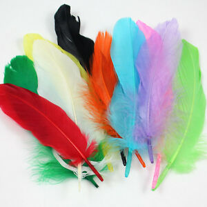 10g-OF-FEATHERS-RANGE-OF-COLOURS-40-PCS-CRAFT-COSTUME-FASCINATORS-DRESSMAKING