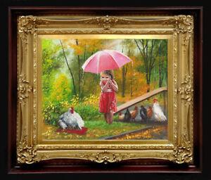 "ORIGINAL Oil Painting Handmade Arseni ~ AUTUMN 10"" X 8"" NO FRAME Artist Art"