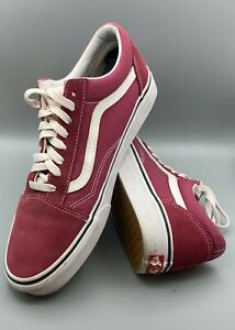 Vans-Off-the-Wall-Old-Skool-Red-amp-White-Suede-Skate-Shoes