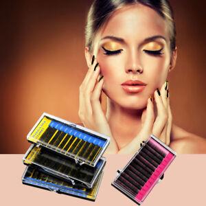 084ee7b5b08 Image is loading 4-Trays-Eyelash-Extension-C-Curl-Professional-Makeup-