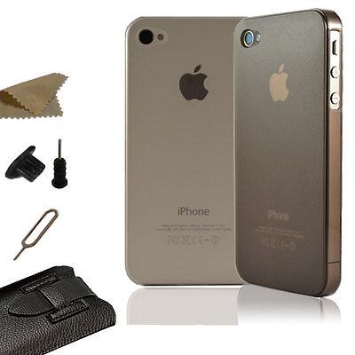 iPhone 5/5S 4/4S 5C Slim Case Cover Handy Tasche Schutz Hülle Etui Bumper