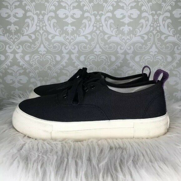 Eytys Mother canvas sneakers 10 Black - image 1