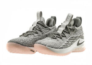 e9eb2be61c1d8 nike LeBron XV LOW 15 LIGHT BONE DARK STUCCO MENS US SIZES AO1755 ...