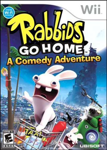 Rabbids Go Home Wii (US Import) GAME NEUF