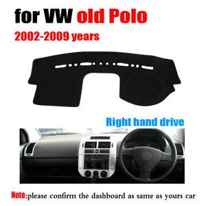 Interior Dashboard Carpet Sun Shade Protective Pad Cover For RHD VW polo 2002-09