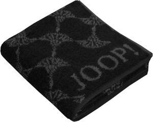 JOOP-Cornflower-1611-Farbe-schwarz-Handtuch-Duschtuch-Gaestetuch-Waschhandschuh