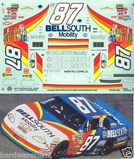 NASCAR DECAL #87 BELLSOUTH 1997 BGN MONTE CARLO JOE NEMECHEK SLIXX