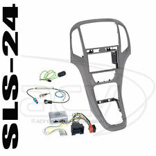 Suzuki Grand Vitara ab 05 2-DIN Autoradio Einbauset  Lenkrad Adapter