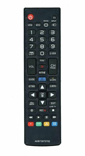 AKB73975702 Replaced Remote fit for LG TV AKB74475401 AGF76631042 AKB73975701