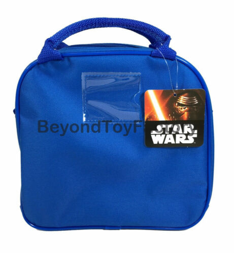 """Star Wars The Force Awakens BB-8 9/"""" Insulated Lunch Bag w Water Bottle"""