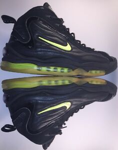 OG 1997 Nike Air Total Max Uptempo 830015 031 Black Neon Yellow Sz ... 5cb65bb1a