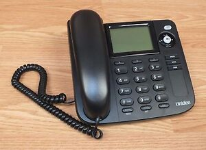 uniden 1360 battery operated single line desktop corded telephone rh ebay com Uniden Phones Manual uniden dect 1360 manual