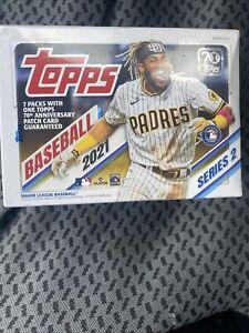 2021 Topps Series 2 Baseball BLASTER  Box (Factory-sealed) IN HAND!
