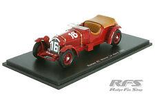 Alfa Romeo 8c 2300lm-Lord Howe-Winner 24h le mans 1931 - 1:43 Spark 43lm31