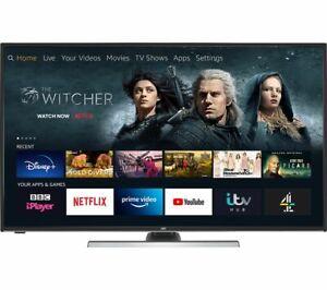 "JVC 40"" Inch Smart 4K Ultra HD HDR LED TV Amazon LT-40CF890 - Fire TV Edition"