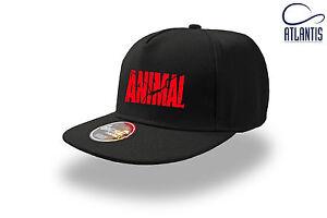 Cappellino-visiera-piatta-Bodybuilding-Fitness-Palestra-Animal-5