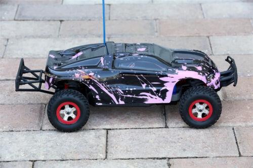 e-Revo 1//16 Scale e Revo Custom Body Muddy Pink for Traxxas 1:16 Slash