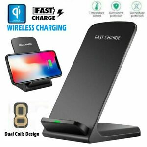 Qi-Wireless-Charger-Fast-Charging-Dock-Pad-with-Fan-for-iPhone-8-XS-Samsung-S10