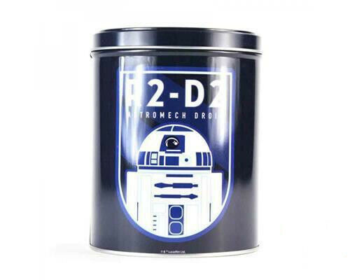 STAR WARS R2D2 ICON STORAGE CONTAINER CANISTER TIN