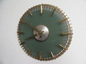 O633-Design-Wanduhr-Kienzle-Heinrich-Moeller-Metall-Glas-Selten