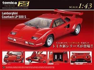 Details about Tomica 1/43 Premium RS Lamborghini Countach LP 500 S Red F/S