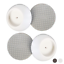 Cup Pads to Guard Your Walls from 4 Baby Gate Guru Small Wall Protector 4 Pack