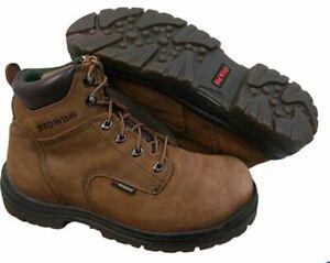 """Red Wing King Toe 6/"""" Waterproof Soft Toe EH Hazard Resistant Boots 435 Hazelnut"""