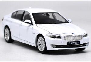 Welly-1-24-BMW-F10-535i-White-Diecast-Model-Car-Vehicle-New-in-Box
