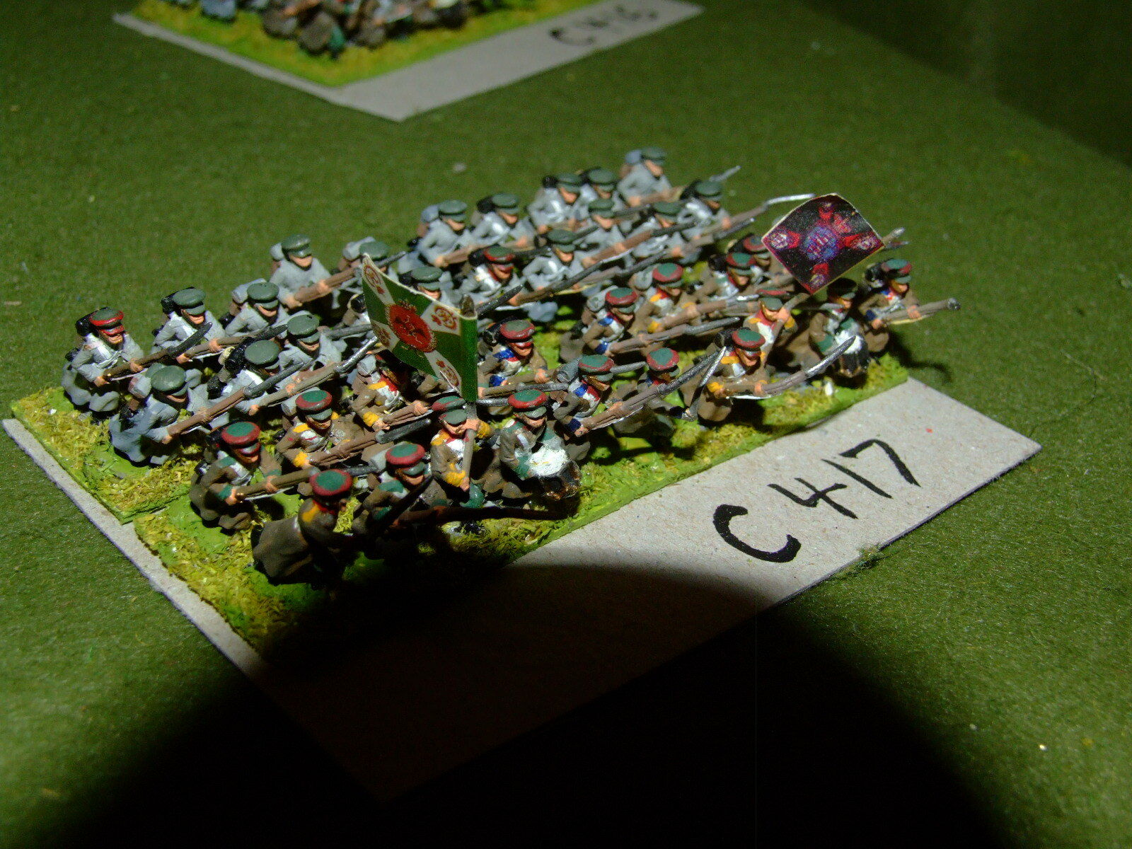 15mm 19th century   crimean - Russian 40 Infantry - inf (CL417)