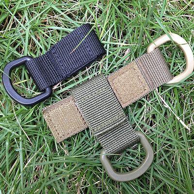 Outdoor Nylon Webbing Engaging Tactical Multifunctional Carabiner Hook Bag Tool