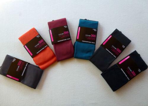 HUDSON COVER 300 Micro-Fleece total blickdichte Strumpfhose 300den 36-50 NEU