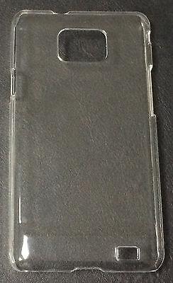 CUSTODIA COVER CASE RIGIDA TRASPARENTE PER SAMSUNG Galaxy S2 plus i9100 I9105