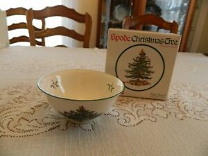 Spode Christmas Tree England Nut Bowl In Original Box Nice 3-5   eBay