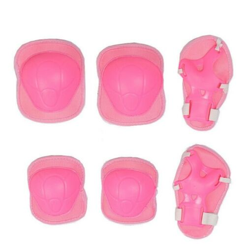 7 Pcs Elbow Wrist Knee Pads and Helmet For Child Skating Riding Bike Safety Gear