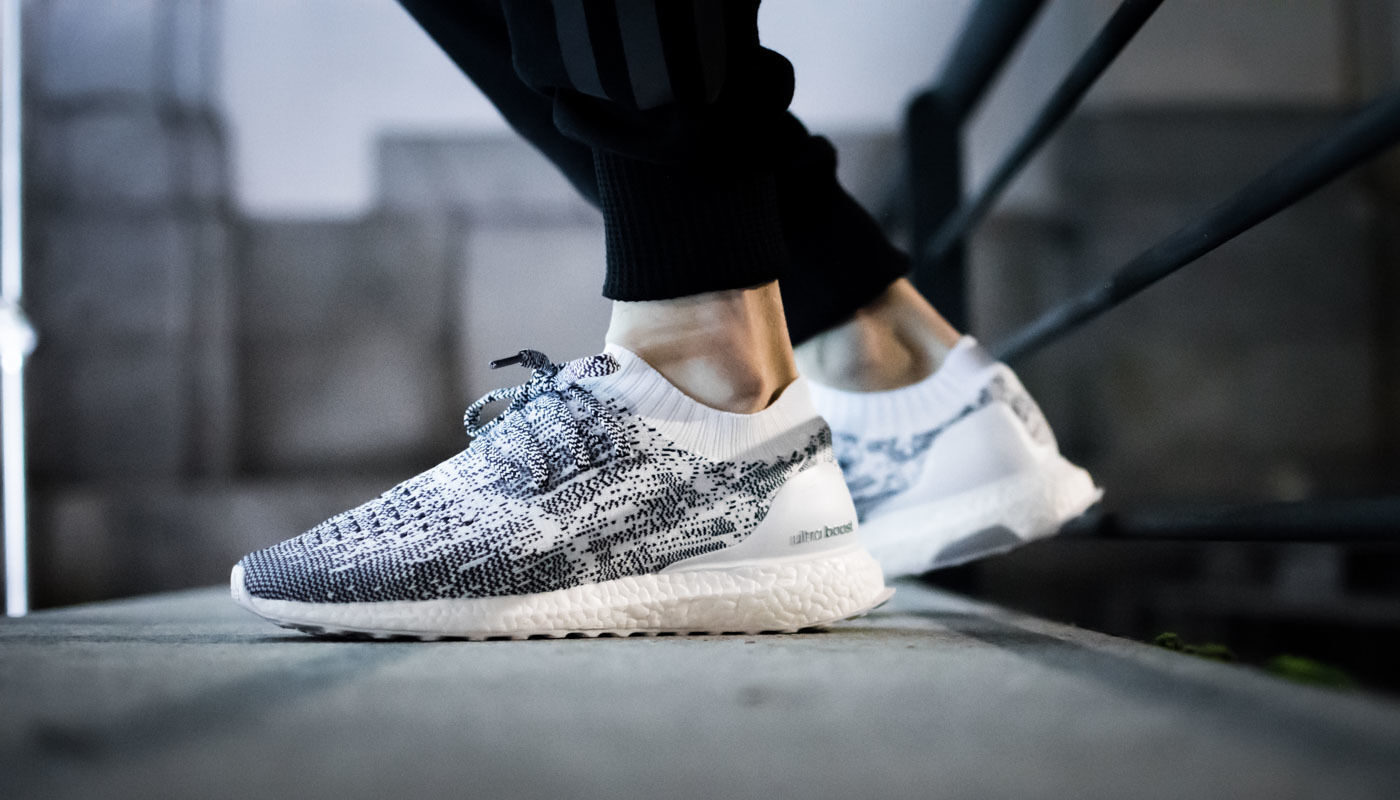 Adidas Ultra Boost Uncaged M Uncaged Boost Oreo size 12.5. Non Dyed White Navy BA9616. NMD PK 402d2d