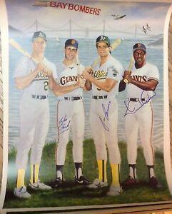 JERSEY MLB Fan Apparel & Souvenirs sports memorabilia KEVIN MITCHELL art print/poster SAN FRANCISCO GIANTS FREE S&H