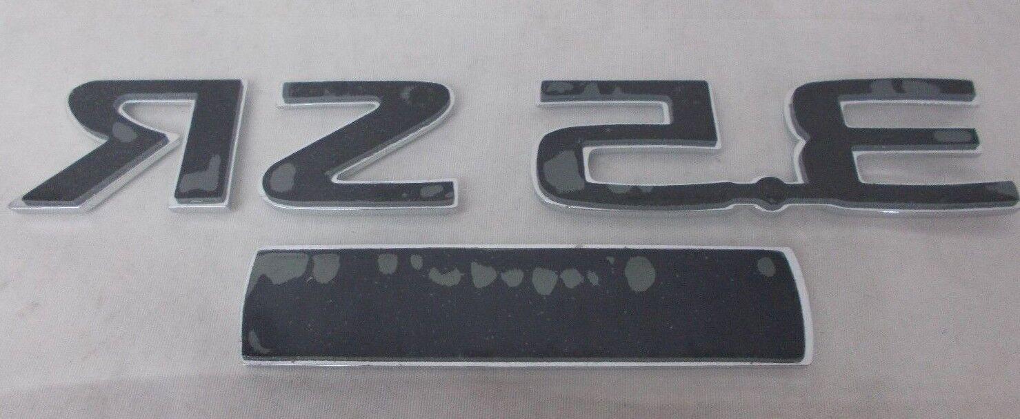 2010-2012 Nissan Altima 3.5 SR /& V6Chrome Trunk Deck Lid Emblem Decal OEM NEW